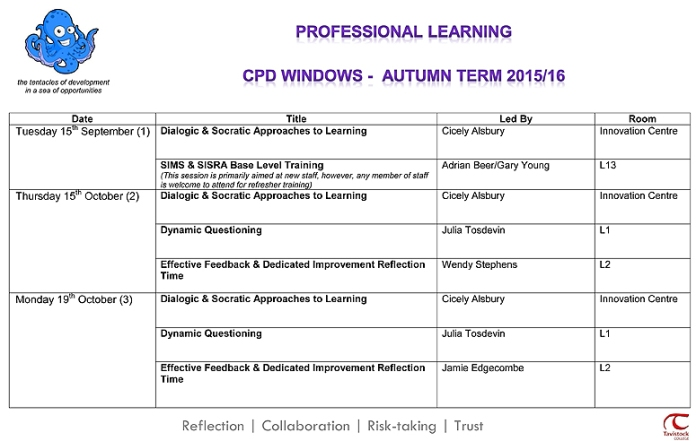 Autumn Term CPD Windows Overview web