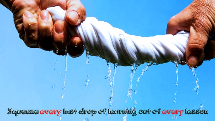 Every drop of learning