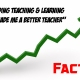 Leading Teaching & Learning has made me a better teacher.Fact.